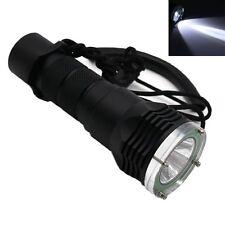 Underwater 100M Cree XM-L T6 LED Scuba Diving 18650 Flashlight Torch Lamp Light