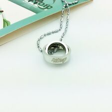 Vocaloid Cosplay Hatsune Miku Anime rotating ring necklace gift #07