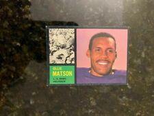 1962 Topps Football #79 OLLIE MATSON (SHORT PRINT).......EX