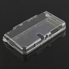 Nintendo 3ds XL LL 2015 Crystal Clear Case Protective Hard Case UK Listing