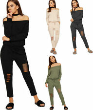 Cotton No Pattern Regular Jumpsuits & Playsuits for Women