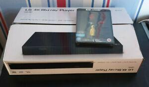 LG UBK80 4K Ultra HD HDR Blu-ray & DVD Player and IT 4K UHD Blu Ray New Sealed