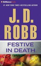 In Death: Festive in Death 39 by J. D. Robb (2016, CD, Abridged)