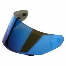LS2 Motorcycle Visor - Iridium Blue Helmet  - FF369 / 384/351/352