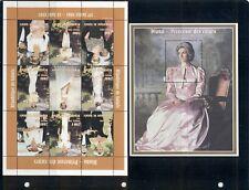 "Guinea two VFMNH ""Diana Memorial"" souvenir sheets from 1998 (michel CV €9)"