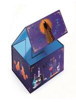 DJECO Boîte de rangement magique chambre garçon neuf blister 32 x 25 x 13.5 cm