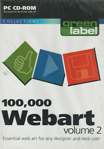 100,000 Web Art Royalty Free GIF images on CD