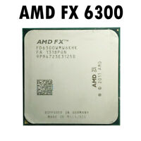 Used AMD FX 6300 CPU Six Core 3.5 GHz Socket AM3+ Processor 64-Bit Computing rhn