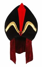 Velvet Jafar Villain Hat Disney Aladdin Costume Cosplay Officially Licensed New