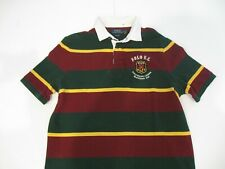 Polo Ralph Lauren Red Green Mens US Size 2XL Polo Striped Shrit 035
