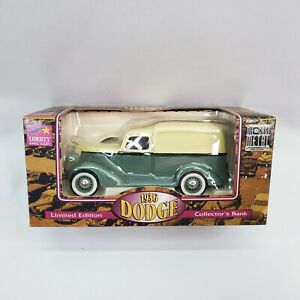 Liberty Classics 1936 Dodge Two Tone Diecast Panel Truck Bank- NIB