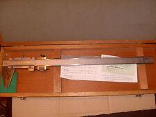 Mitutoyo No. 505-635-50 12 Pulgadas / 30cm Vernier-Hecho En Japón-Como La Foto