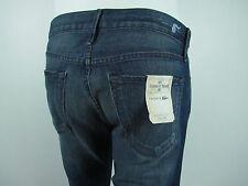 LACOSTE by EARNEST SEWN FULTON STARIGHT Jeans Men SZ 31 IN GARRETT MEDIUM BLUE
