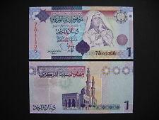 LIBYA  1 Dinar 2009  (P71)  UNC