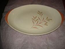 "Royal Doulton ""Meadow Glow"" D 6443 Eared 37cm  15"" Oval Serving Platter"