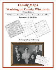 Family Maps Washington County Wisconsin Genealogy Plat