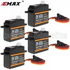 4x EMAX ES3153 Mini Size High Torque 17g Digital Servo 2.5KG 0.14sec trex align