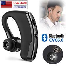 Wireless Bluetooth Earphone Handsfree Business Headset Waterproof Sports Earbud