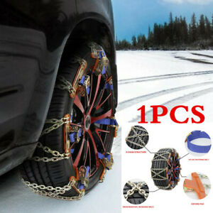 1X Wheel Tire Snow Anti-skid Chain For Car Truck SUV Emergency Winter Universal