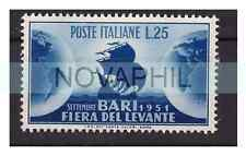 ITALIA 1951  -  FIERA DEL LEVANTE   NUOVO (*)  senza gomma