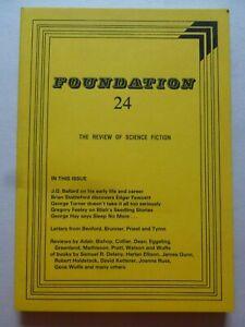 FOUNDATION; THE REVIEW OF SCIENCE FICTION No. 24, Feb 1982 – J G Ballard