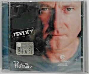 Phil  COLLINS   -  Testify    (CD nuovo e sigillato  /  Jewel case)