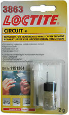 Loctite Circuit fast & easy to use repair kit for rear windscreen defogger kit