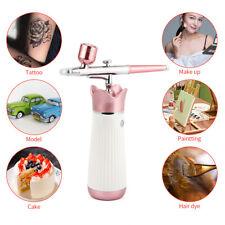 Airbrush Spray Art Paint Gun Airbrush Compressor Kit F Oxygen Cake Tattoos Nail