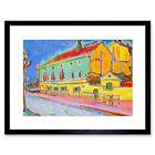 Ernst Ludwig Kirchner German Houses Dresden Framed Wall Art Print