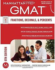Manhattan Prep GMAT Strategy Guides: Fractions, Decimals,& Percents. 6th Edition