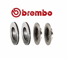Honda Accord EXL 2008 V6 Two Front + Two Rear Disc Brake Rotors Kit Brembo OEM