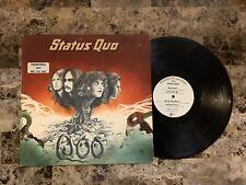 STATUS QUO A&M WHITE LABEL PROMO HARD ROCK MONARCH PRESS VINYL LP NM