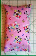 Minnie Mouse & Daisy Duck Happy Helpers - Sm Pillow Case & Travel/Toddler Pillow