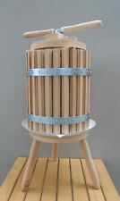 Wine Press Fruit Apple Grape Cider Crusher 60 Liter 16 Gal Wine Making Equipment