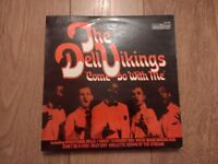 """THE DELL VIKINGS """" COME GO WITH ME """" ROCK & ROLL VINYL LP EX/EX"""