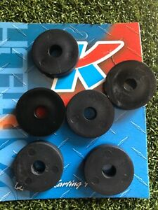 Go Kart - Kartech Seat Spacer Black Plastic 8mm - Packet of 6