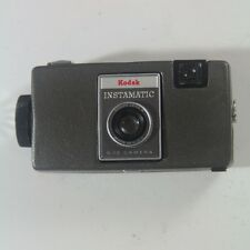 VINTAGE KODAK Instamatic S-10 Camera 35 mm with Case - AS-IS - USED - UNTESTED