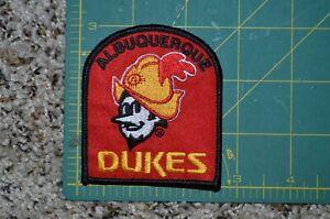 "Albuquerque Dukes Throwback MiLB Minor League 3"" Baseball Jersey Sleeve Patch"