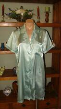 """Ladies/Women's Vintage Sophia Short Sleep Shirt - Bust to 38"""" - Lt. Green"""