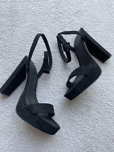 ASOS Black Natasha Heels Size 7