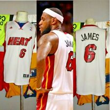 MIAMI HEAT LEBRON JAMES CLEVELAND DE CAVALIERS LAKERS 2010 2014 USA JERSEY S +2™