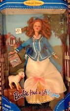 Barbie Had a Little Lamb Nursery Rhyme Collection NRFB Mattel
