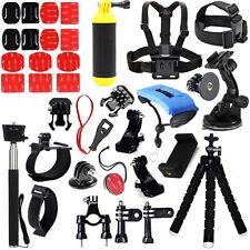 Essential Accessories Kit for Gopro Hero 5 Hero 3+ Hero 3 Hero 2 Hero 4/SJCAM H9