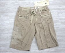 NEW Da Nang Silk Blend Bermuda Shorts Embroidered DUNE CHA19901481 X-SMALL XS