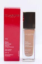 CLARINS Cognae 115 Skin ilusion  SPF 10  TRUE RADIANCE liquid foundation 30ml