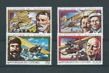 AFRIQUE COMORES - 1978 YT 229 à 232 L' AVIATION - TIMBRES NEUFS* charnière