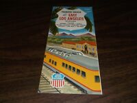 MAY 1961 UNION PACIFIC EAST LOS ANGELES TRANSFER SERVICE BROCHURE