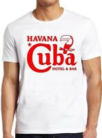 Havana Cuba T Shirt Flag Hotel Motel  Che Guevara Scarface Vintage Cool Tee 59