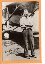 Aviation Postcard - Douglas Wrong Way Corrigan Aviator