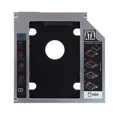 2nd SATA HDD SSD Hard Drive Bay Caddy for Laptops (9.5mm)